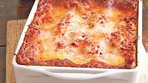 Lasagna Recipe Cottage Cheese by Cheesy Beef Lasagna Recipe Bettycrocker Com