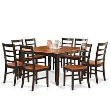 8 seat square dining table amazon com