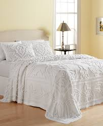 Macy S Bed And Bath Martha Stewart Collection Wooster 100 Cotton Tufted Chenille