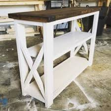 smaller version of our rustic x end tables diy pinterest
