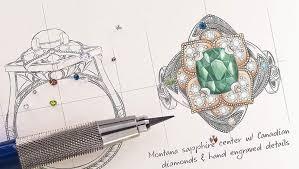 design your own engagement ring u0026 custom jewelry green lake jewelry