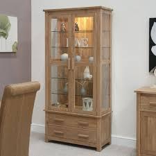 Oak Furniture Uk Buy Opus Display Cabinet Homestyle Gb Opus Solid Oak Display Units