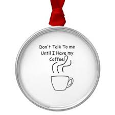coffee talking ornaments keepsake ornaments zazzle