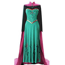 Elsa Halloween Costume Frozen Amazon Elsa Coronation Dress Halloween Costume Disney