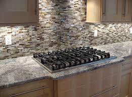 Modern Kitchen Tile Backsplash by Lowes Tile Backsplash Modern Kitchen Style Ideas With Brown
