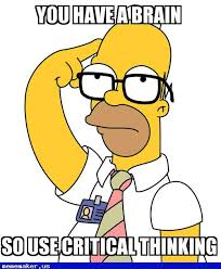 Thinking Memes - new meme critical thinking homero nerd meme creator pinterest