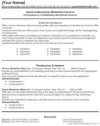 Resume Summary Statement Examples Entry Level by Resume For A Marketing Sales Professional Susan Ireland Resumes