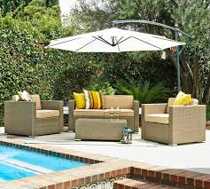 Patio Furniture Set With Umbrella - patio ideas heavy duty patio umbrella with cube pattern tiles and