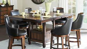 tall round dining table set tall kitchen table sets home designs palazzobcn tall round kitchen
