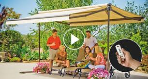 Motorized Awnings Reviews Sunsetter Awning Models Sunsetter Awnings