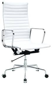 white office chair modern white office chair modern alluring white modern desk chair white