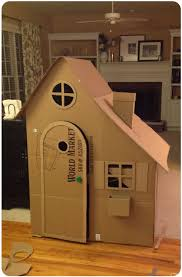 the 25 best cardboard playhouse ideas on pinterest cardboard