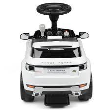 land rover evoque white children u0027s ride on suv car toy range rover evoque with sound