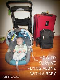 traveling with a baby images How to survive flying alone with a baby spifftacular jpg
