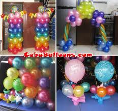 Balloon Decor Ideas Birthdays Cebu U0027s Trusted Name In Balloon Decorations U0026 Birthday Package