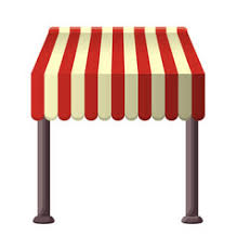 Striped Awning Awning Vector Images Over 2 500