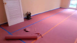 Pink Laminate Flooring How To Cover Up Wood Floors In A Home Before Construction Work