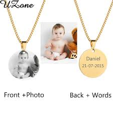 photo engraved necklace popular custom photo necklace buy cheap custom photo necklace lots