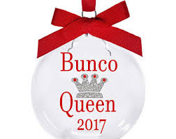 bunco ornament etsy