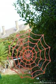 giant spider web decoration halloween how to make glitter glue spider web halloween decorations
