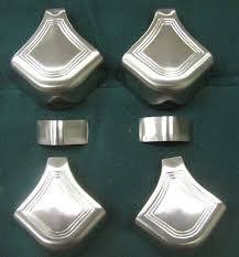 pool table corner castings rail cap corner miters for antique billiard pool tables
