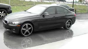 matte black bmw 328i dubsandtires com 20 inch motiv motion chrome black wheels 2013