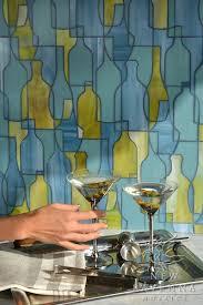 Stained Glass Backsplash by 64 Best Kitchen Backsplash Ideas Images On Pinterest Backsplash