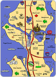 seattle map eastlake file seattle map gif dickinson college wiki