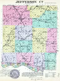 Kansas Counties Map Kansas History And Heritage Project Jefferson County