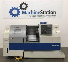 daewoo puma 230c cnc turning center machinestation