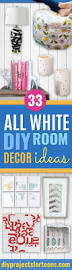 all white diy room decor diy projects for teens