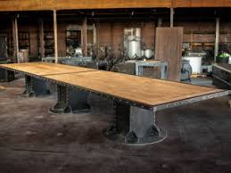 Custom Boardroom Tables Vintage Industrial Conference Tables Vintage Industrial Furniture