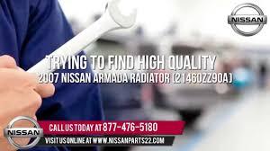 nissan armada performance upgrades nissan part 21460zz90a 2007 nissan armada radiator youtube