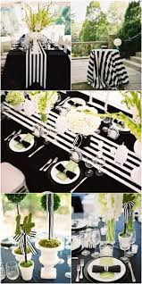 black and white wedding decorations black and white striped wedding inspiration best black