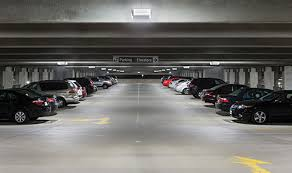 parking garage lighting levels led lighting improves safety cuts energy in hospital parking garage
