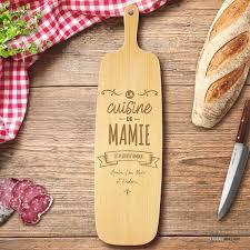 ton cuisine personnalisé planche à découper mamie à personnaliser cadeau maestro