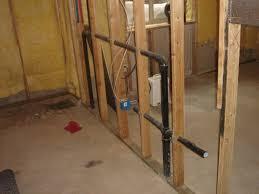 basement sink drain befon for