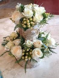 White Roses Centerpieces by Shoe Floral Arrangement In A Stunning Unique Glittered Shoe