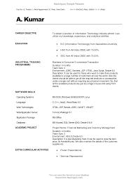 cover letter sample resumes for freshers sample resumes for
