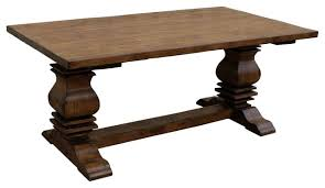 Trestle Kitchen Table Oak Refectory Table Kitchen Dining - Trestle kitchen tables
