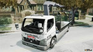 mitsubishi truck mitsubishi fuso tow truck for gta 4