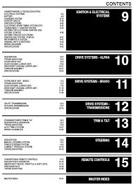 mercruiser stern drive repair manual 2001 2013
