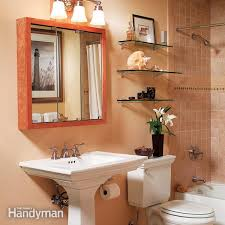 bathroom space saving ideas three bathroom storage ideas the family handyman