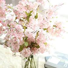 cherry blossom flowers artificial silk cherry blossom flowers cywulin