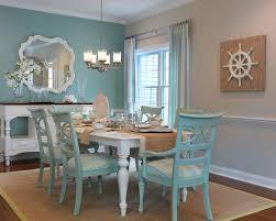Belmar Luxury Coastal Whitewash Finish Round Oval Dining Table - Beachy dining room