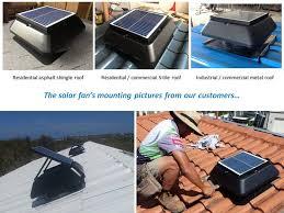 solar attic vent fan vent tools hvac exhaust fan solar powered roof air circulation attic