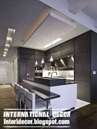 classy inspiration modern false ceiling design for kitchen top