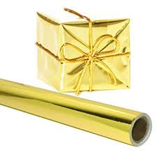deco wrapping paper gold gift wrapping paper 26 in x 25 roll