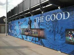 bigsigns com we amplify your brand a bleacher is a terrible thing to waste