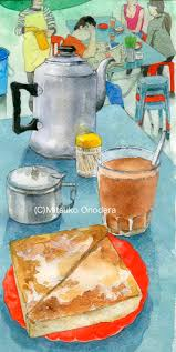 cuisine a炳 kee hong kong 炳記茶檔 香港 drawings watercolor